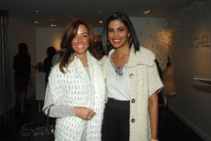 Rachel Roy alongside Kelly Bensimon